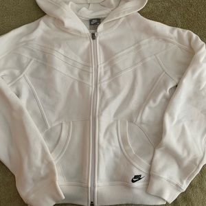 Nike women's sweat top with hood